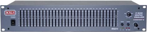 Rolls REQ313  31-Band Graphic Equalizer REQ313