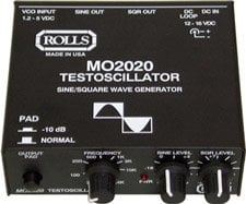 Rolls MO2020 Test Oscillator w/ Power Supply MO2020