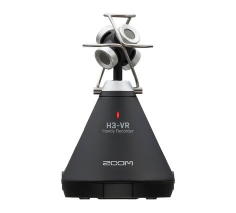 Zoom H3-VR  All-In-One Ambisonic Microphone + Recorder  H3-VR