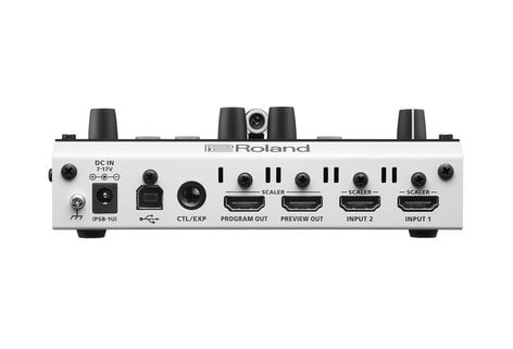 Roland V-02HD-PAC1  Video Mixer Bundle, includes Momentary Pedal V-02HD-PAC1