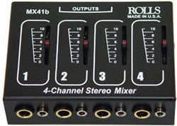 Rolls MX41b 4-Channel Passive Mixer MX41B