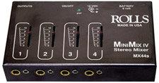 Rolls MX44s 4-Channel Active Mixer, Line Level MX44S