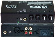 Rolls MX56c MiniMix A/V Mixer MX56C
