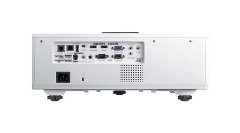 Optoma ZU610T-W 6000 Lumens WUXGA Laser Projector, White
