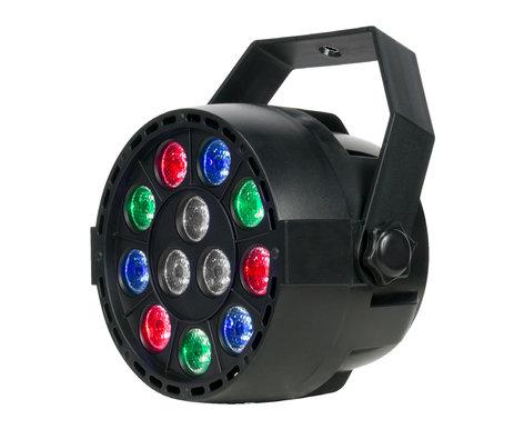 Eliminator Lighting Mini Par Rgbw Led 12 X 1 Watt Fixture