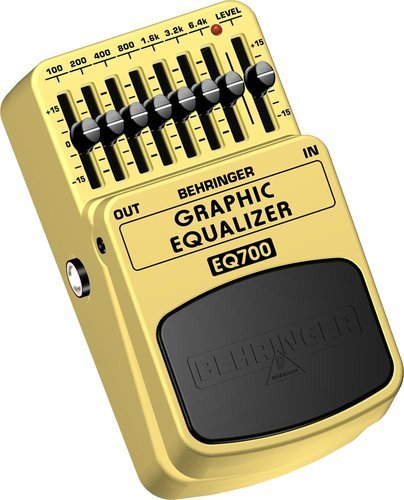 Behringer EQ700-GRAPHIC-EQ Stomp Box, EQ EQ700-GRAPHIC-EQ