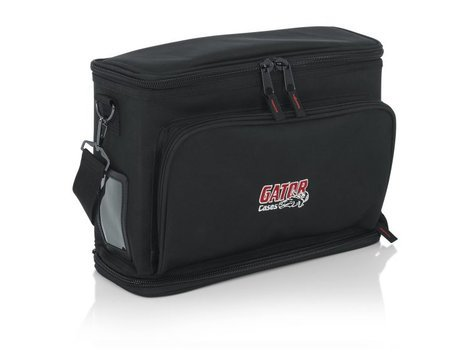 Gator Gm Dualw Wireless Mic Series Carry Bag For Shure Blx And Similar Full Compass Systems