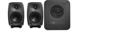 Genelec 8030-TRIPLE-PLAY 2x 8030A Monitors and 1x 7050 Subwoofer System 8030-TRIPLE-PLAY