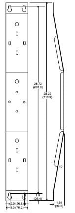 JBL MTC25V Wall Bracket for Control 25 MTC25V