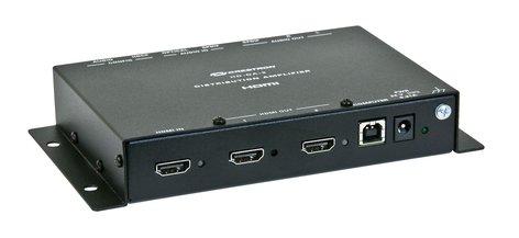 Crestron HD-DA-2 1-to-2 HDMI Distribution Amplifier And Audio Converter