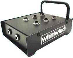 Whirlwind HBB Headphone Breakout Box, 6 Headphone Outs HBB