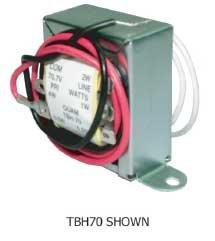 Quam TBL25B Transformer 25-volt, 4-Watts TBL25B