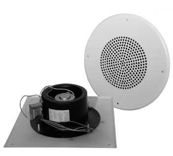 Quam H16/SVP 16W 25/70V Flush-Mount Paging Horn H16/SVP