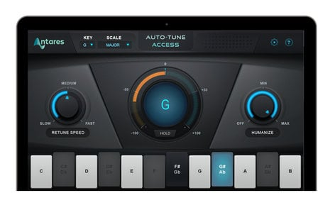 Antares Auto Tune Access Streamlined Version Of Auto Tune, No ILok  Required, Works With Auto Key