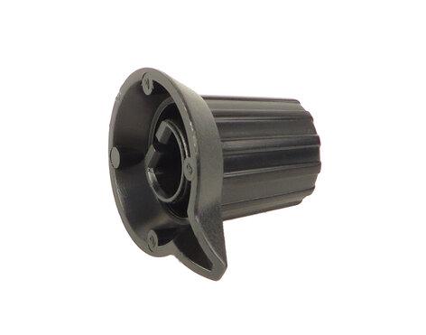 yamaha v560380r black rotary encoder knob for mm6 full compass systems. Black Bedroom Furniture Sets. Home Design Ideas