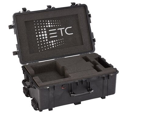 ETC Ion XE Flight Case Clamshell Case With Custom Cut Foam For Ion XE Or  EOS Programming Wing