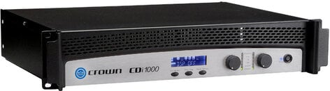 Crown CDi 1000 Contractor Series Dual Channel 500 Watts @ 4 Ohms Power Amplifier CDI1000