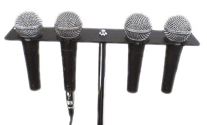Hosa MMH-346 Microphone Holder, for 4 Ball Microphones MMH346