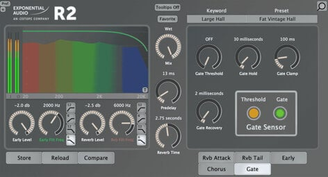 Exponential Audio R2 Classic Character Reverbs For Music (download)