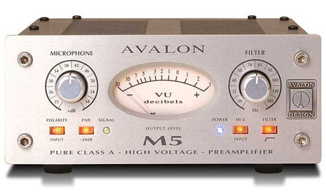 Avalon M5 Mono Microphone Preamplifier, Class A M5-AVALON