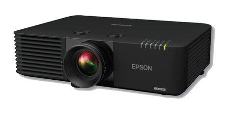 Epson POWERLITE-L615U 6000 Lumens Wireless WUXGA 3LCD Laser Projector In  Black