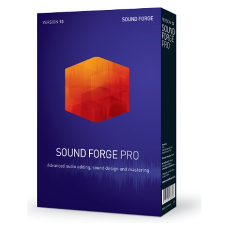 Magix Sound Forge Pro 13 Audio Recording, Editing And Restoration Software  With IZotope RX And Ozone Elements [Virtual]