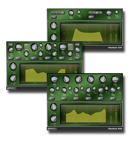 McDSP Filter Bank HD EQ Plug-in Bundle FILTER-BANK-HD
