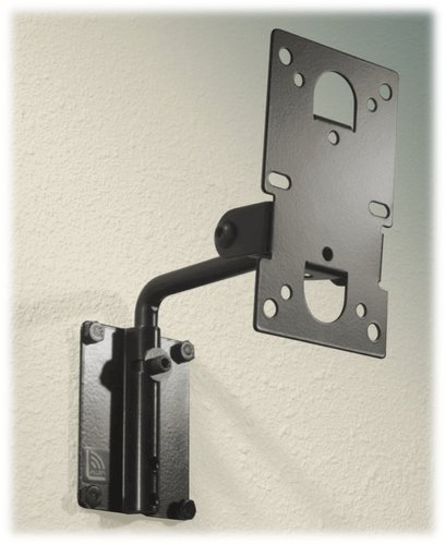 Allen Products/Adaptive Technologies MM-016-BLACK MultiMount Adjustable Speaker Wall Mount with 20 lb Capacity in Black Finish MM-016-BLACK