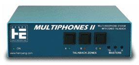 Henry Engineering MultiPhones II Multi-User Distributed Headphones System MULTIPHONE-II