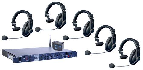 39bad1dddee Clear-Com DX210-CZ11513-RST-01 Wireless Intercom,w/5 HS15 [RESTOCK] | Full  Compass Systems