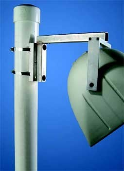 "Allen PM-MOUNT-6DOWN Speaker Pole Mount for 6"" Diameter and Under PM-MOUNT-6DOWN"
