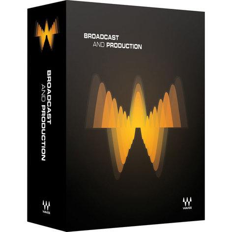 Waves Broadcast & Production Broadcast Audio Production Plugin Bundle BPTDM