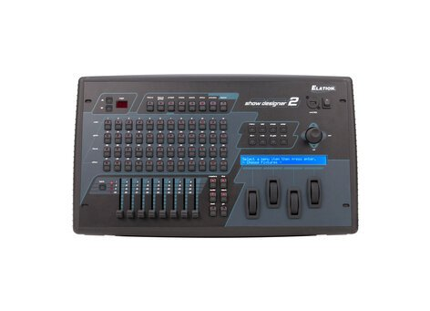 Elation SHOW-DESIGNER-2-RST3 1024-Channel DMX Lighting Console With 2 DMX  Ports And 8 Faders [RESTOCK ITEM]