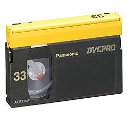 Panasonic AJP33M Medium DVC-Pro Video Cassette AJP33M