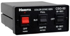 Horita Csg 50 Color Bar, Sync, & Audio Tone Generator CSG50