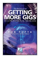 Hal Leonard 00331067 The Business of Getting More Gigs as a Professional Musician - Book 00331067
