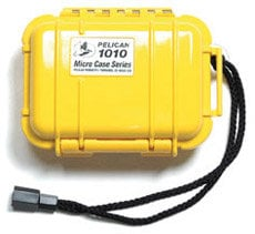Pelican Cases PC1010SY Solid Yellow Micro Case PC1010SY