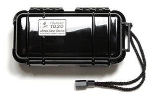 Pelican Cases PC1030-CLR-BLK Clear Black Micro Case PC1030-CLR-BLK