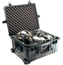 Pelican Cases 1610 Large Black Case with Wheels PC1610-BLACK
