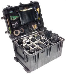 Pelican Cases 1660 Large Black Pelican Case with Wheels PC1660