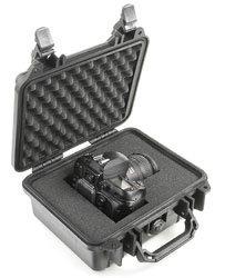 Pelican Cases PC1200-BLACK Small Black Case PC1200-BLACK