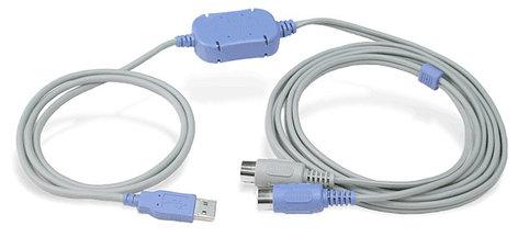 Hosa USM-422 10' USB to MIDI Cable, PC Only USM422