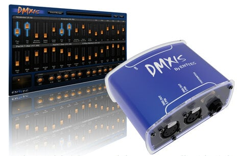 Beste Enttec 70570 DMX Control Software For PC And Mac With USB QM-26