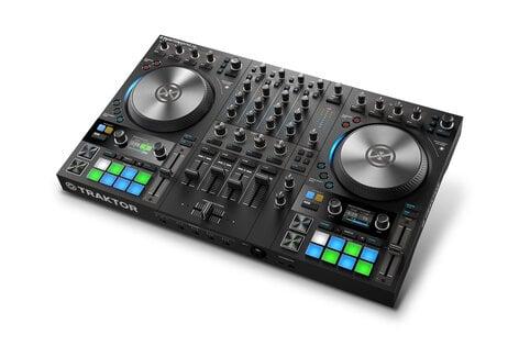 Native Instruments TRAKTOR KONTROL S4 MK3 4-Channel DJ Controller With  Haptic Drive