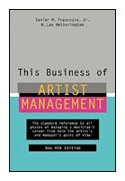 Hal Leonard 00331380 This Business of Artist Management - 4th Edition - Book 00331380