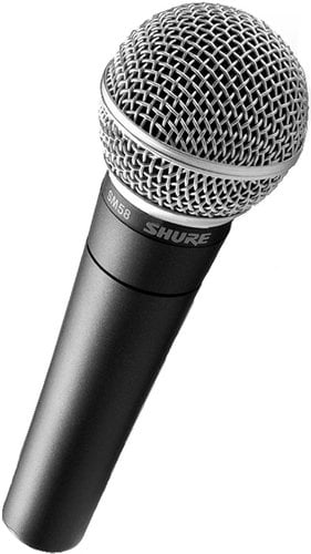 Shure SM58-LC Dynamic Vocal Cardioid Microphone SM58LC