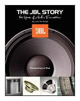 Hal Leonard 00331423 The JBL Story - 60 Years of Audio Innovation - Book 00331423