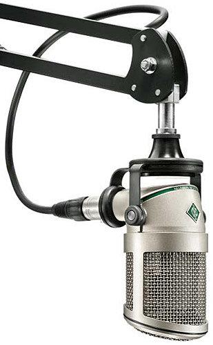 Neumann BCM 705 Small Diaphragm Hypercardioid Dynamic Broadcast Microphone BCM705