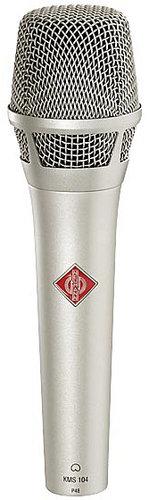 Neumann KMS 104 ni Cardioid Handheld Condenser Microphone in Satin Nickel Finish KMS104-NI