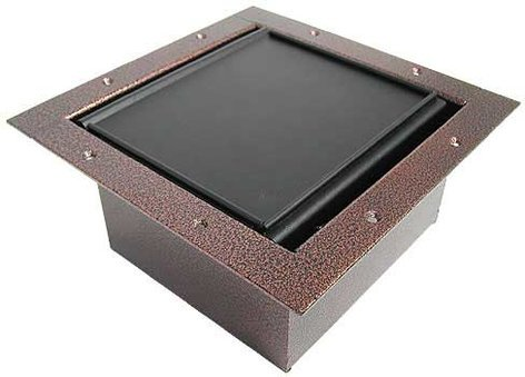 Ace Backstage Co. 122CL-CV Full Stage Pocket, with Copper Vein Powder Coat Finish and Carpet Lid 122CL-CV
